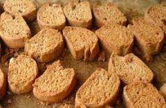 Rusk Flour crackers