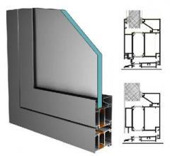 Πόρτα αλουμινίου EL 8000
