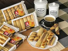 Coffee cookies κουλούρια σε σκαφάκι