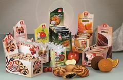 Γλυκά snacks σε κουτιά display, Καρύδα