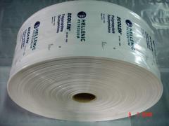 Βιομηχανικό Σακί Βαρέως Τύπου PE και PP FFS Tube Foil σε Μπομπίνες με Embossing