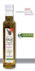 Organic Garlic Seasoned extra virgin Olive Oil 250ml 0.3 acidity