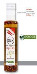 Chilly Seasoned exta virgin ORGANIC Olive Oil 0.3