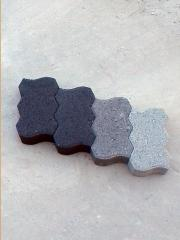 Building cement blocks