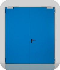 Απλές μεταλλικές πόρτες Proget multipurpose