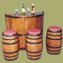 Προϊόντα από ξύλο βαρελιού για τη διακόσμηση