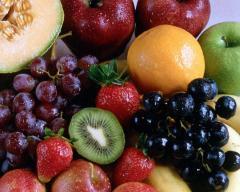 Σταφύλι,  καρπολυζι, πορτοκάλια, λεμονια