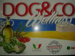 DOG % CO WELLNESS-HOLISTIC-ADULT LAMP & RICE 3KG