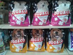 PREMIUM DOG&CO PUPPY AND JUNIOR 4KG