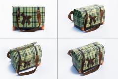 Τσάντα δώρου πράσινη