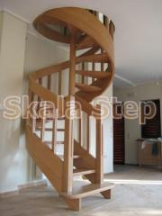 Κυκλική σκάλα με άξονα