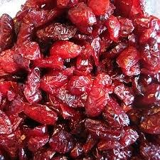 Червена Американска боровинка (Cranberry) без захар