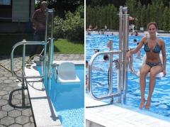 Ανελκυστήρας πισίνας
