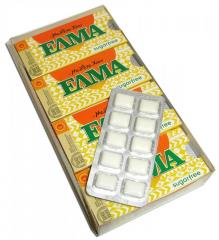 Τσίκλα Χίου ΕΛΜΑ (ELMA sugar free chewing gum with
