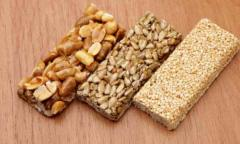 Healthy Honey Nuts and Sesame Bars