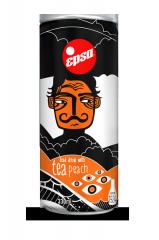 Iced Drink with Peach tea
