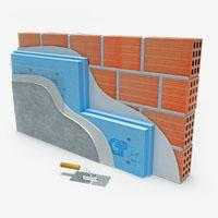 Systems of facades heat insulation