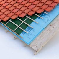 Building heat-proofing materials for roofs