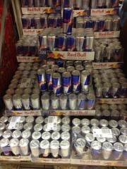 COCA Cola. Pepsi, Fanta, Sprite, Ice Tea, RED Bull