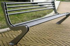 Bench From cast IRON- Μεταλλικό χαλύβδινο παγκάκι  Νο 15