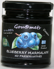 Blueberry Marmalade with 85% fruit content - NO PRESERVATIVES