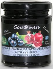 Aronia & Pomegranate Marmalade with 85% fruit content - NO PRESERVATIVES