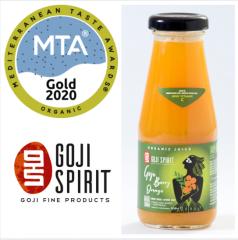 Βιολογικός Χυμός Goji berry - Πορτοκάλι