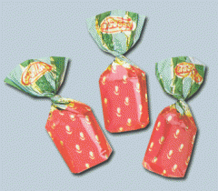 Καραμέλες  Φράουλα από ελληνικό παραγωγό