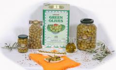 Ελιές Πράσινες Βάζο, Ελιές Πράσινες σακουλάκι vaccum, Ελιές Πράσινες Δοχείο