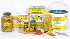 Πιπεριές Μακεδονικού τύπου Βάζο 165 gr, Πιπεριές Μακεδονικού τύπου PET βάζο