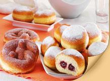Ντόνατ - Μάφιν με πλούσιες και δροσερές μαρμελάδες