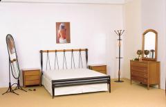 Κρεβάτι ΟΠΤΑΣΙΑ χαμηλό ποδαρικό