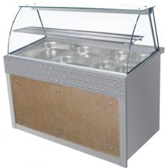 Ψυγείο βιτρίνα από ανοξείδωτο χάλυβα