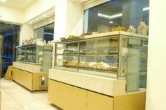 Βιτρίνες Ζαχαροπλαστείων Ειδικής Κατασκευής
