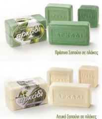 Πλάκες πράσινου σαπουνιού και Πλάκες λευκού
