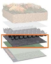 Προστατευτικός τάπητας από ίνες Bauder FSM 600 /