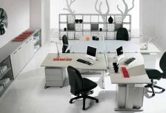 Γραφεία της εταιρίας Colombini σε διάφορα χρώματα