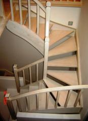 Ξύλινες  Σκάλες από ελληνικό παταγωγό