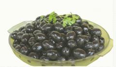Μαύρες ελιές καλής ποιότητας