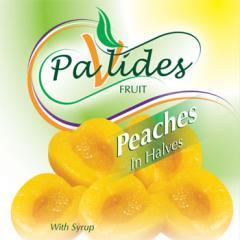 Peach (Cut in halves, slices, dices)
