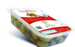 Green olives from Northern Greece