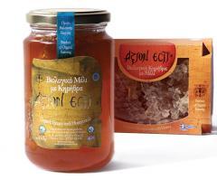 Βιολογικό Μέλι με Κηρήθρα