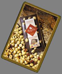 Σοκολάτα Φρουκτόζης υγείας φουντουκιoύ 110γρ.