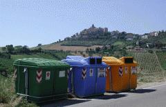 Κάδοι ανακύκλωσης απορριμάτων