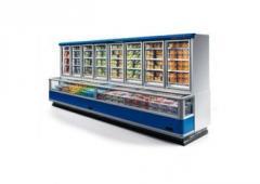 Συνδυασμός ψυγείου με πόρτες και χώρο βούτας