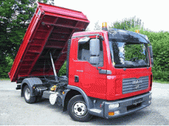 Εμπορία μεγάλων φορτηγών και ελαφρών