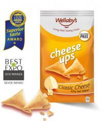 Μοναδικό σνακ από 43% πραγματικό τυρί EDAM