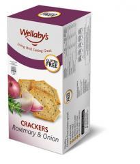 Crackers  Rosemary & Onion