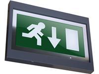 Πινακίδα σήμανσης εξόδου Britesign