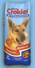 Σειρά προϊόντων σε κροκέτες για σκύλους και γάτες με ποικιλία πρωτεϊνικής αξίας